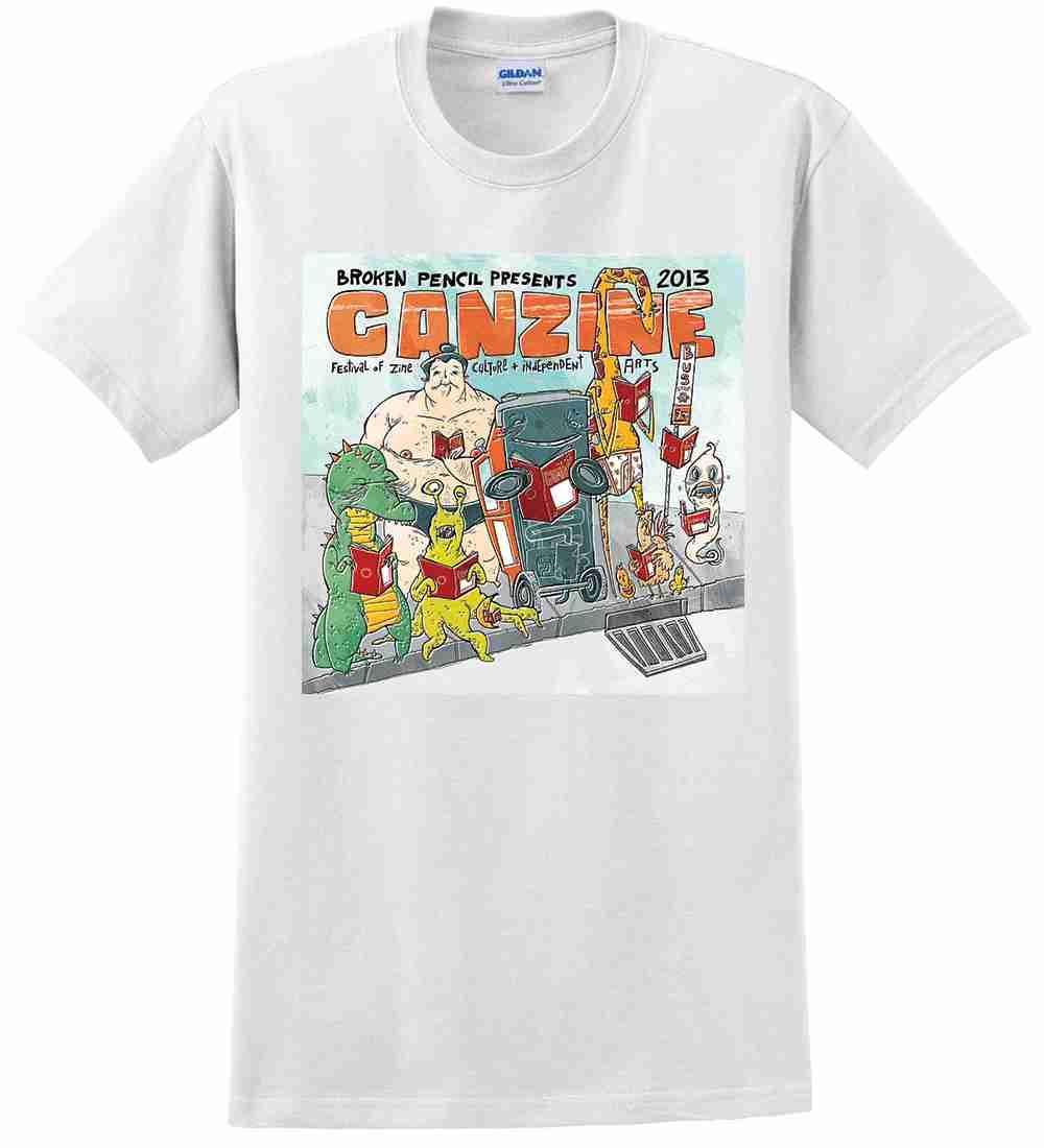 Canzine 2013 tshirt