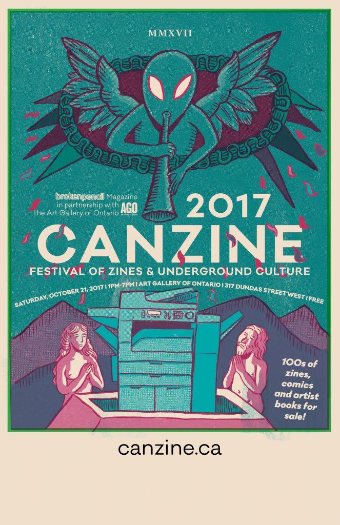 Canzine 2017 Poster