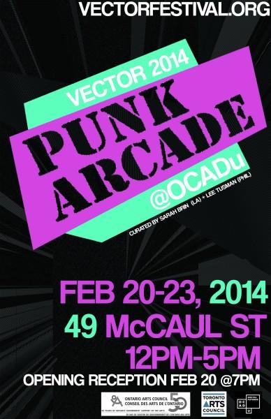 Punk Arcade Exhibit