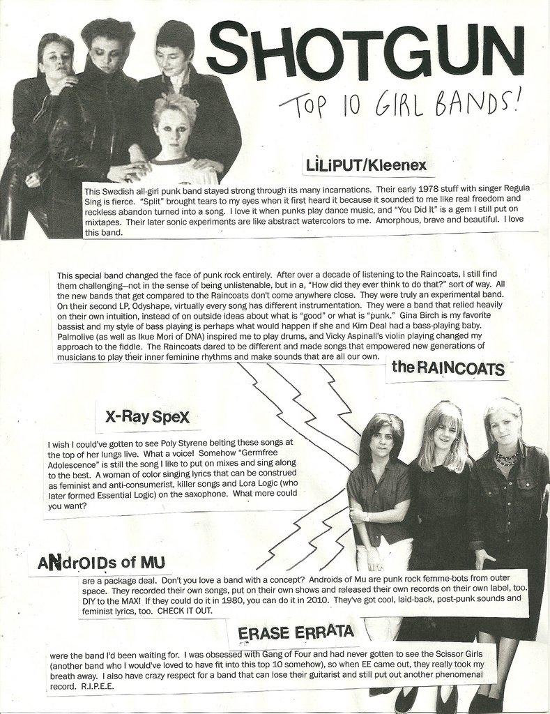 FEATURES_Shotgun Top 10 Girl Bands