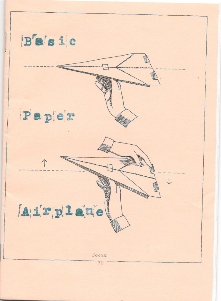 ZINES_Basic Paper Airplace