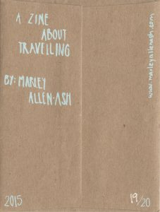 ZINES_Zine About Traveling