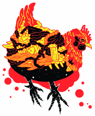 Mad Red Hen