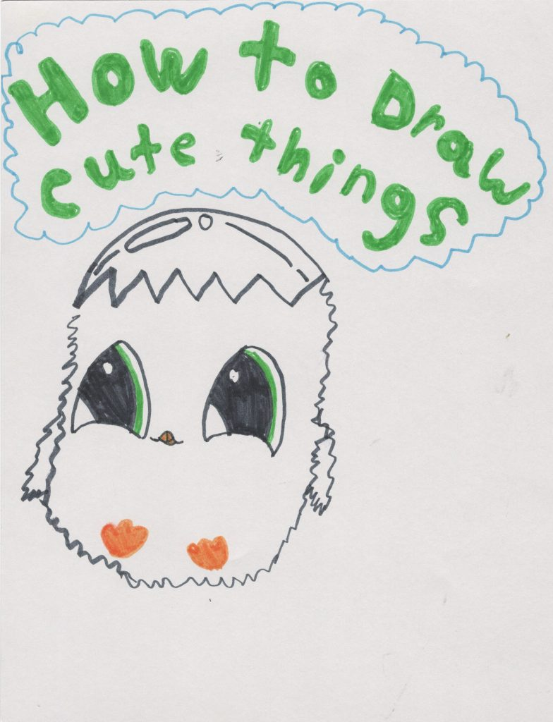 canzine portraits learn how to draw cute things with sid