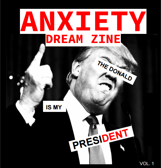 ANXIETY DREAM ZINE COVER